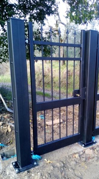 cancello pedonale posa toscana firenze pistoia prato