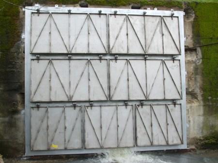 carpenteria metallica strutture in ferro Paratia Protezione idrica