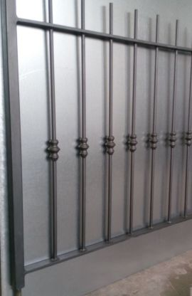 Ringhiera da recinzione - modello Arezzo prezzi FIRENZE PISTOIA PRATO CARPENTERIA METALLICA