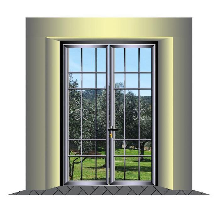 Cancelli inferriate ringhiere ferro e inox scale ferro - Porte finestre in ferro ...