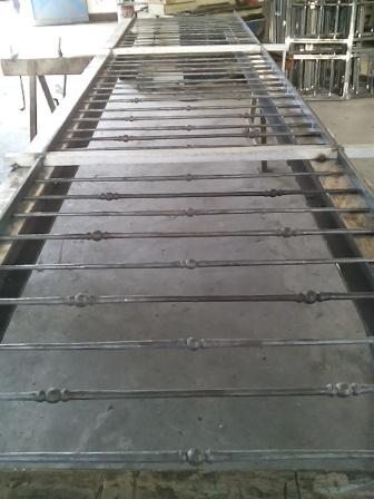 RINGHIERA GREZZA PARAPETTO  firenze prato arezzo pistoia carpenteria metallica