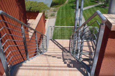 scale carpenteria metallica strutture in ferro firenze toscana pistoia prato prezzi scala da esterno Toscana