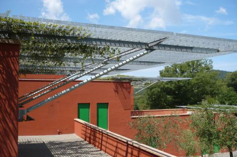 carpenteria metallica strutture in ferro PENSILINA ZINCATA Firenze Prato Pistoia