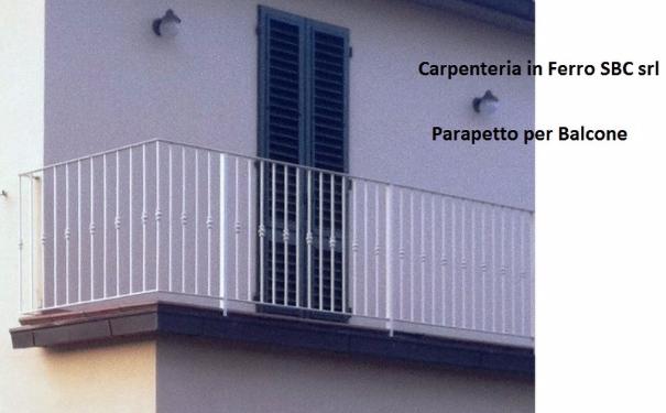 Parapetto con attacco a pavimento Firenze Pistoia Prato con prezzi carpenteria metallica
