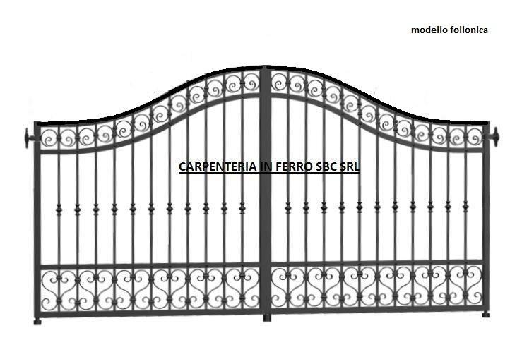 Cancello in metallo medio cm 5-6437
